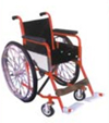 Invalid Wheel Chair Folding Deluxe