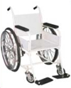 Invalid Wheel Chair Non Folding Special (Iron Seat)