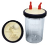 AME 2000 ml PC Suction Jar with Lid